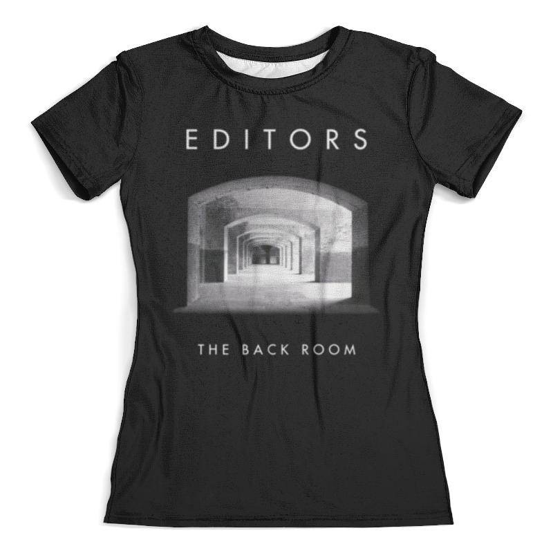 Футболка с полной запечаткой (женская) Printio Editors editors editors in dream