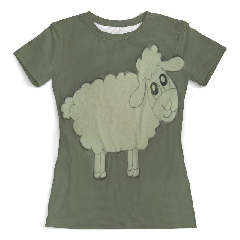 Футболка с полной запечаткой (женская) Printio Футболка овечка футболка с полной запечаткой  женская