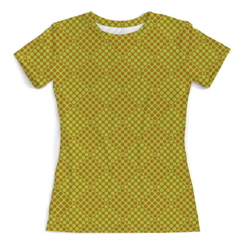 Футболка с полной запечаткой (женская) Printio Горох в квадрате футболка с полной запечаткой женская printio белый горох