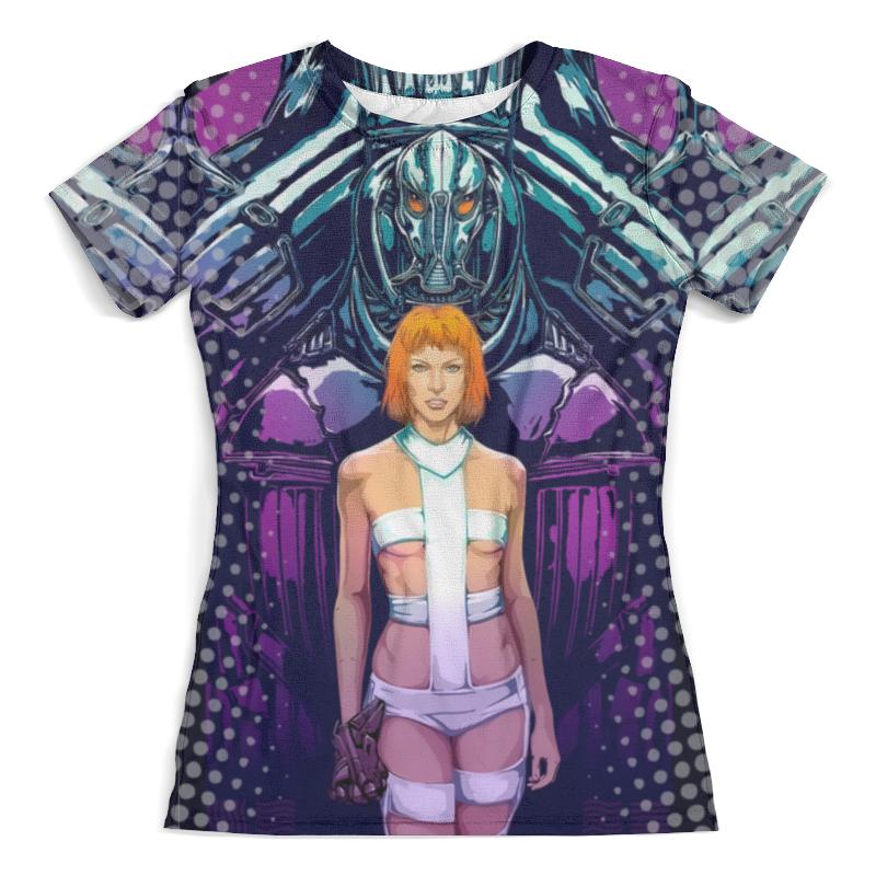 Футболка с полной запечаткой (женская) Printio Fifth element design футболка женская element which way white