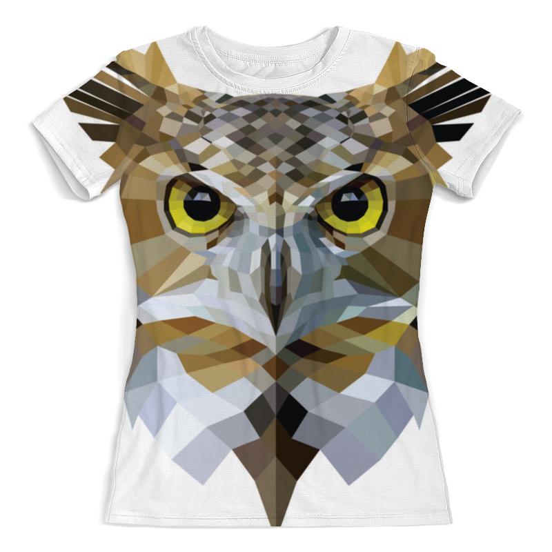 Футболка с полной запечаткой (женская) Printio Сова / owl футболка print bar dark owl