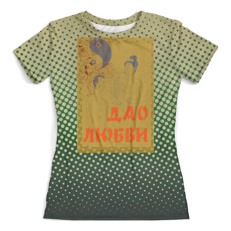 Футболка с полной запечаткой (женская) Printio Дао любви футболка с полной запечаткой мужская printio инь ян