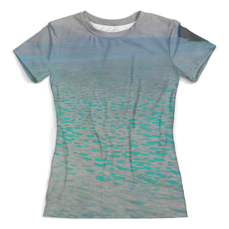 Футболка с полной запечаткой (женская) Printio Озеро аттерзее (густав климт) футболка с полной запечаткой женская printio подземное озеро
