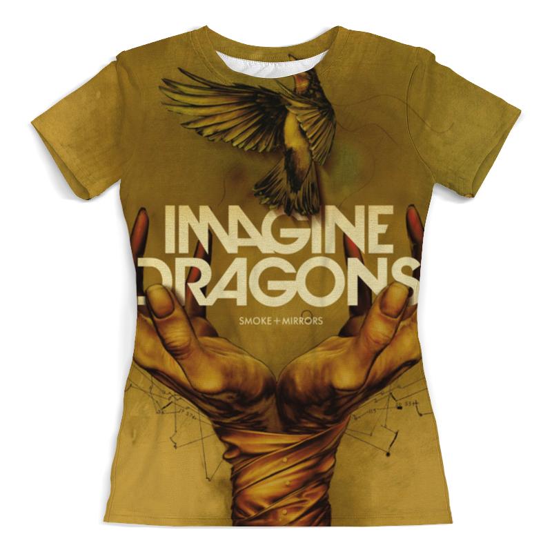 Футболка с полной запечаткой (женская) Printio Imagine dragons dragons фигурка toothless сидящий