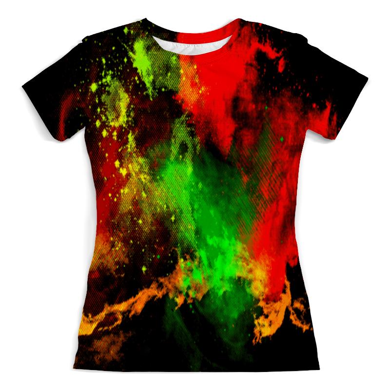 Printio Брызги красок футболка с полной запечаткой женская printio брызги красок