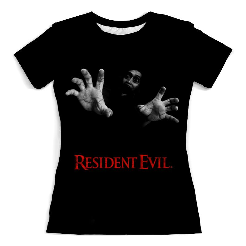 Футболка с полной запечаткой (женская) Printio Resident evil армейский жетон resident evil f090 albert wesker id pvc