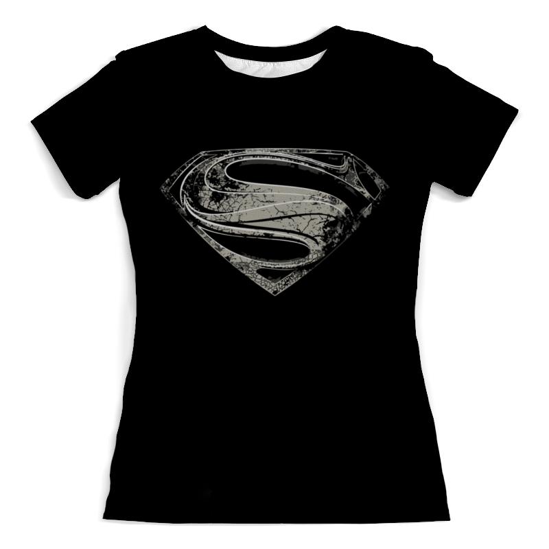 Printio Супермен (superman) футболка с полной запечаткой для девочек printio супермен superman