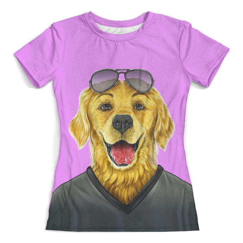 Printio Моя собака футболка с полной запечаткой женская printio любовь моя религия