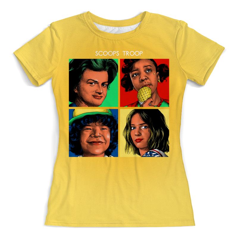 Printio Очень странные дела футболка с полной запечаткой женская printio очень странные дела stranger things
