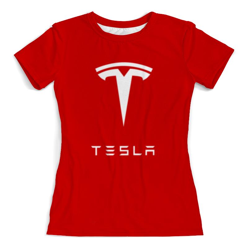 Printio Тесла моторс футболка с полной запечаткой женская printio тесла моторс