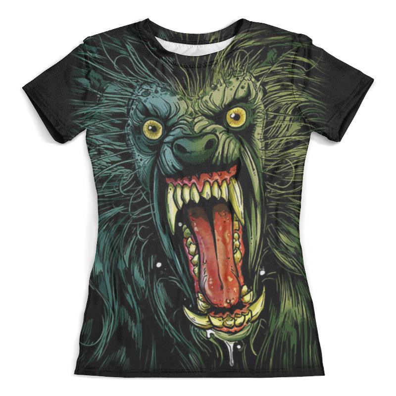 Футболка с полной запечаткой (женская) Printio Оборотень/werewolf футболка с полной запечаткой для мальчиков printio werewolf