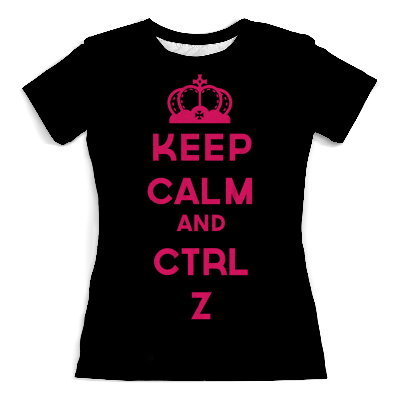 Printio Keep calm and ctrl z рюкзак с полной запечаткой printio keep calm and stop war