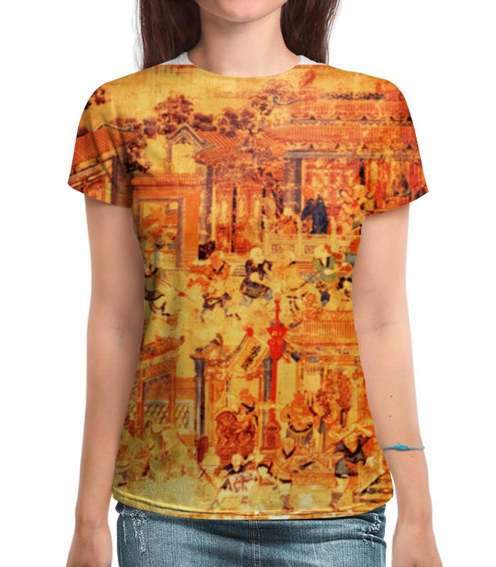 Футболка с полной запечаткой Printio Шаолинь футболка с полной запечаткой printio важнейшее из искусств мужская