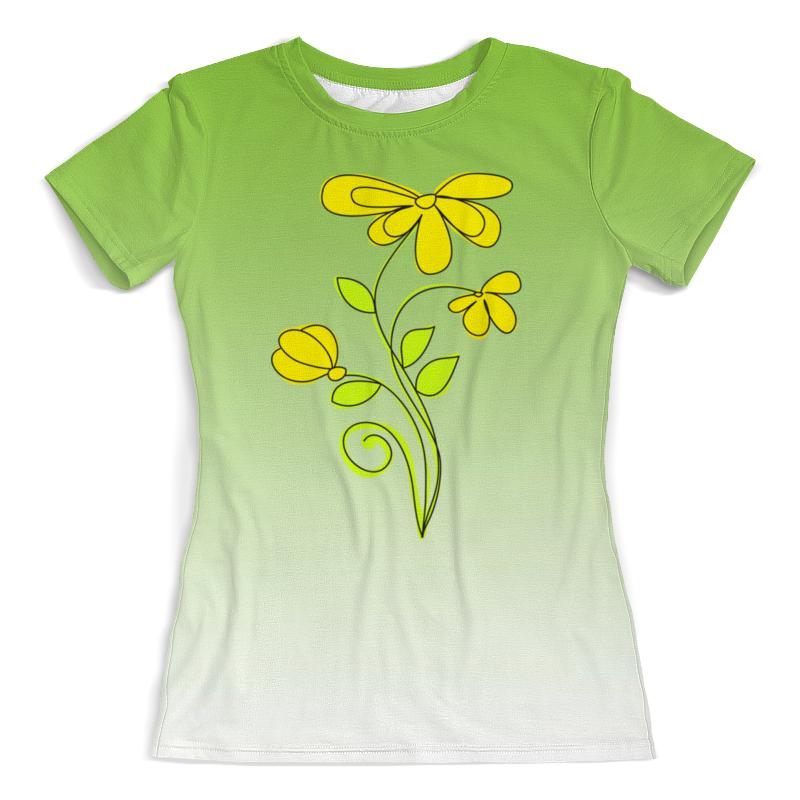 цена Printio Летние полевые цветы. онлайн в 2017 году