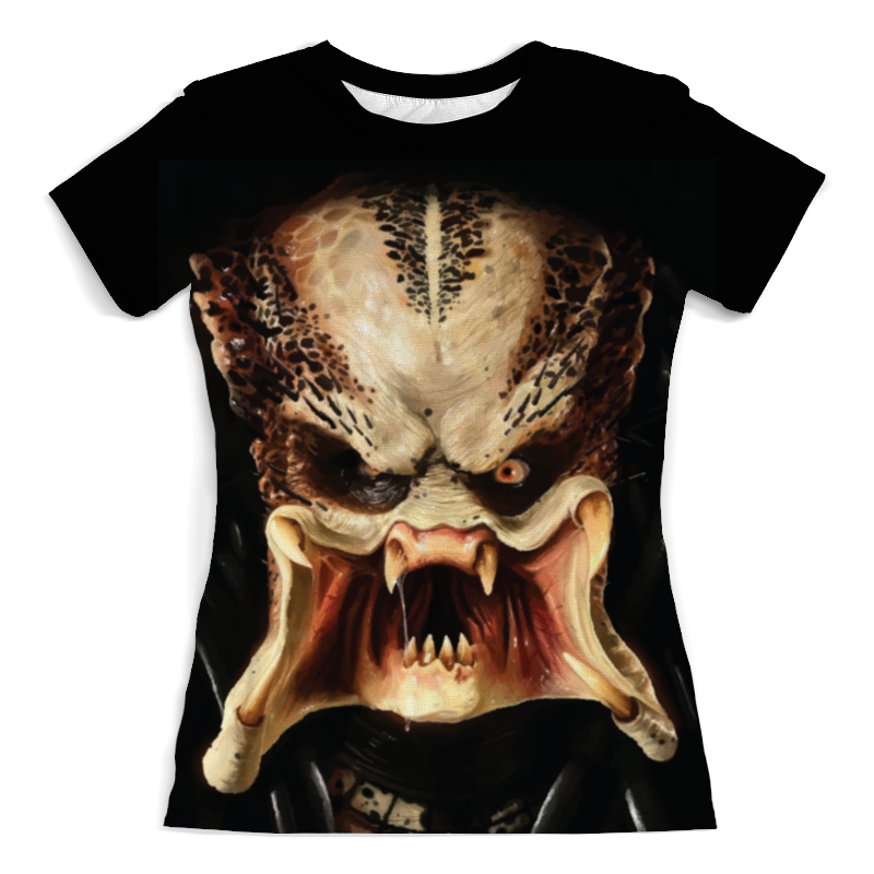 Футболка с полной запечаткой (женская) Printio Predator / хищник (женская) футболка с полной запечаткой  женская