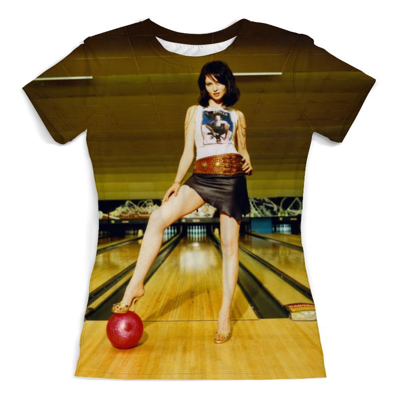 Футболка с полной запечаткой (женская) Printio Sophie ellis-bextor футболка с полной запечаткой женская printio sophie ellis bextor