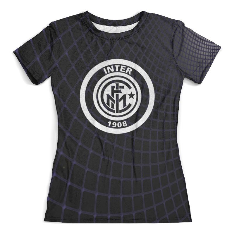 Футболка с полной запечаткой (женская) Printio Inter inter milan spal