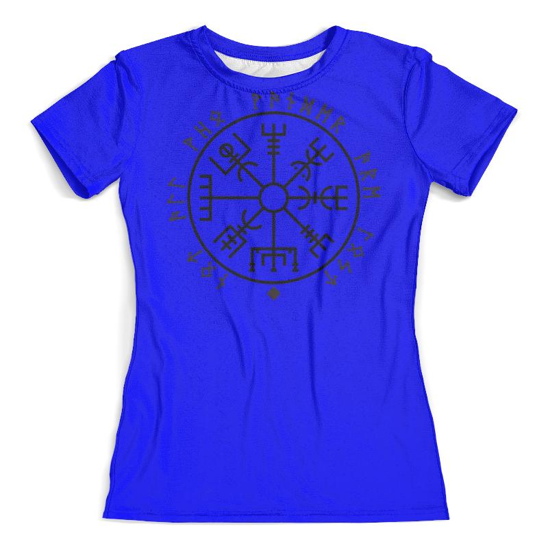 Футболка с полной запечаткой (женская) Printio Руна викингов футболка print bar руна любви