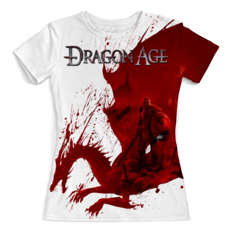 Футболка с полной запечаткой (женская) Printio Dragon age dragon age omnibus