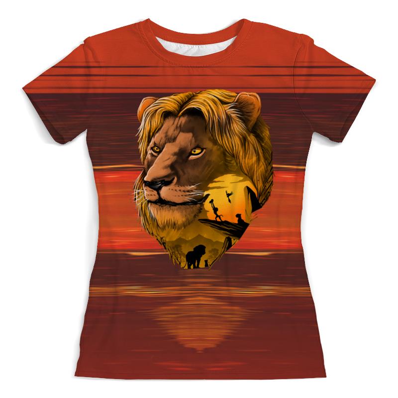 Printio Царь зверей футболка с полной запечаткой женская printio blade