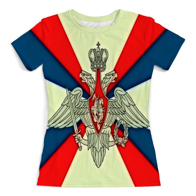 Футболка с полной запечаткой (женская) Printio Герб рф футболка с полной запечаткой мужская printio герб рф