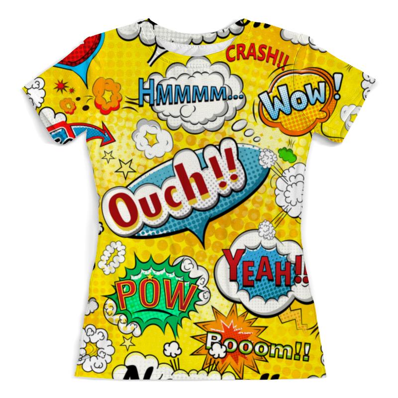 Фото - Футболка с полной запечаткой (женская) Printio Pop-art футболка с полной запечаткой женская printio pop art