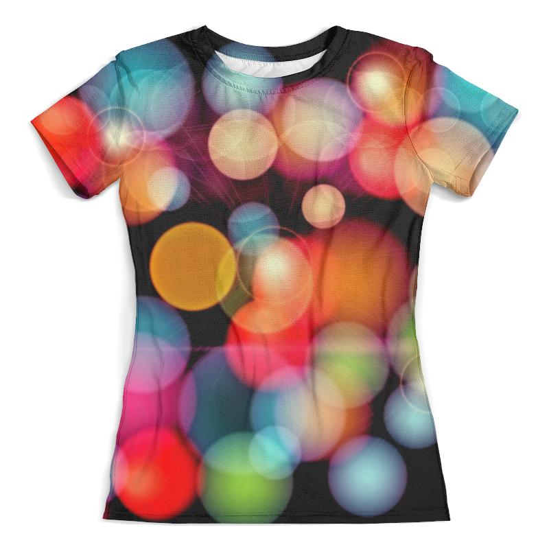 Футболка с полной запечаткой (женская) Printio Солнечные блики футболка с полной запечаткой мужская printio блики