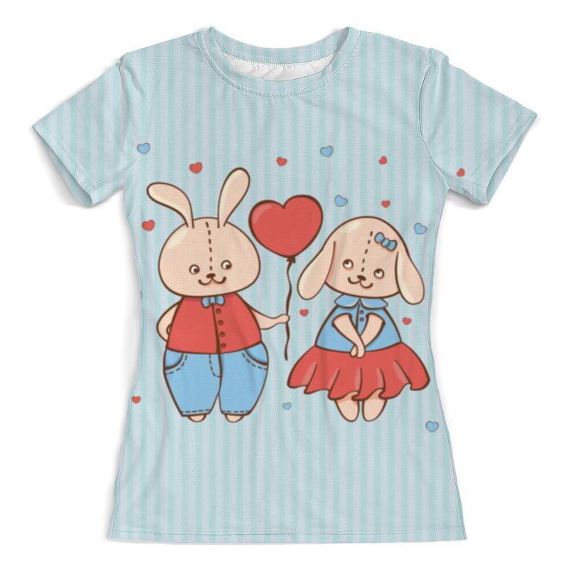Printio Влюбленные зайцы. парные футболки. printio влюбленные птички парные футболки