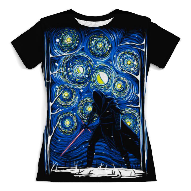 Футболка с полной запечаткой (женская) Printio Star wars футболка с полной запечаткой женская printio princess leia star wars