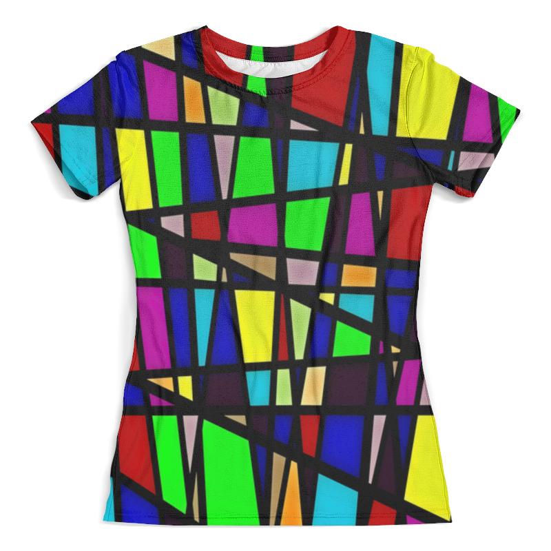 Футболка с полной запечаткой (женская) Printio Line линии футболка с полной запечаткой женская printio line линии