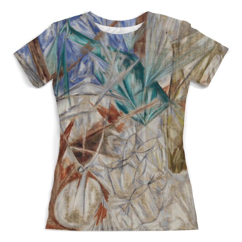 Футболка с полной запечаткой (женская) Printio Стекло (михаил ларионов) футболка с полной запечаткой мужская printio стекло михаил ларионов