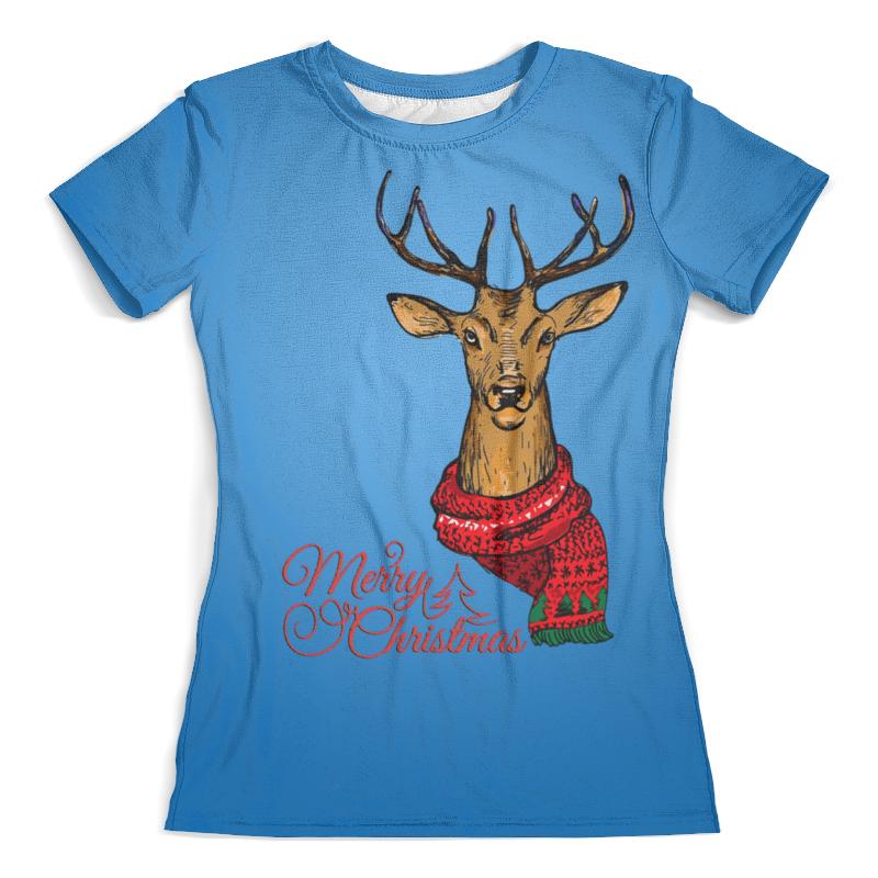 Футболка с полной запечаткой (женская) Printio Merry christmas футболка с полной запечаткой женская printio a very merry x mas