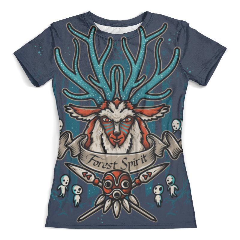 Футболка с полной запечаткой (женская) Printio Forest spirit. лесной дух футболка с полной запечаткой для мальчиков printio forest spirit лесной дух
