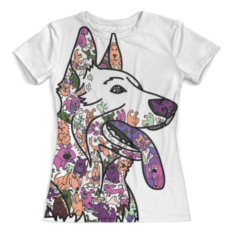 Футболка с полной запечаткой (женская) Printio Забавные собаки футболка с полной запечаткой женская printio забавные щенки