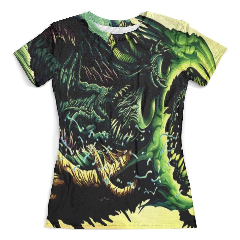 Футболка с полной запечаткой (женская) Printio Cs go :hyper acid футболка с полной запечаткой женская printio cs go asiimov camouflage