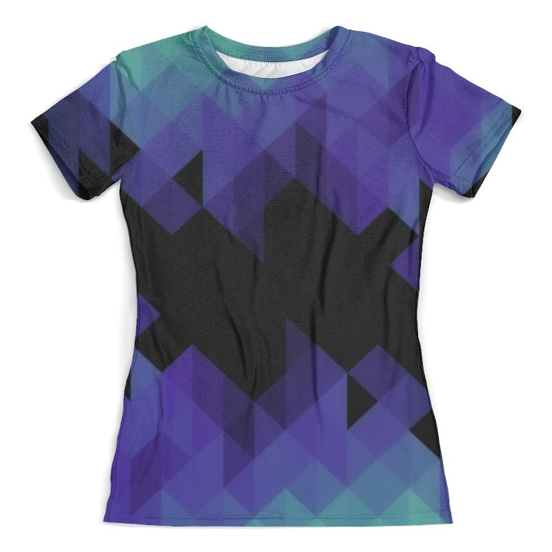Футболка с полной запечаткой (женская) Printio Triangle футболка с полной запечаткой женская printio colorfull triangle