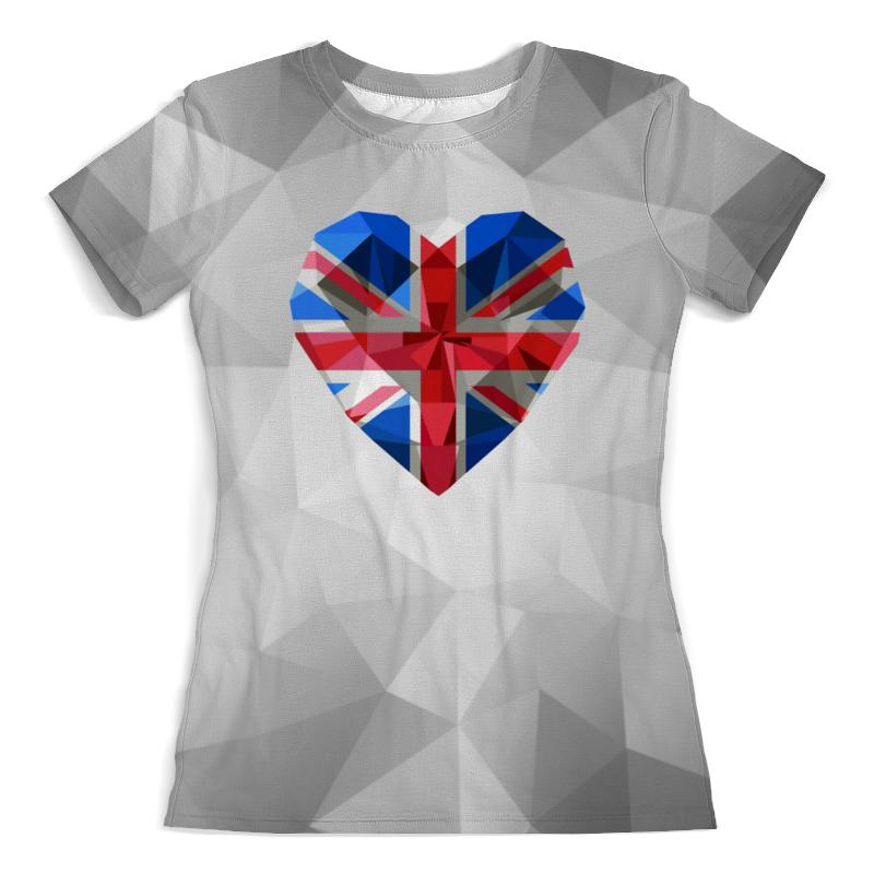 Printio Флаг британии футболка с полной запечаткой мужская printio флаг британии