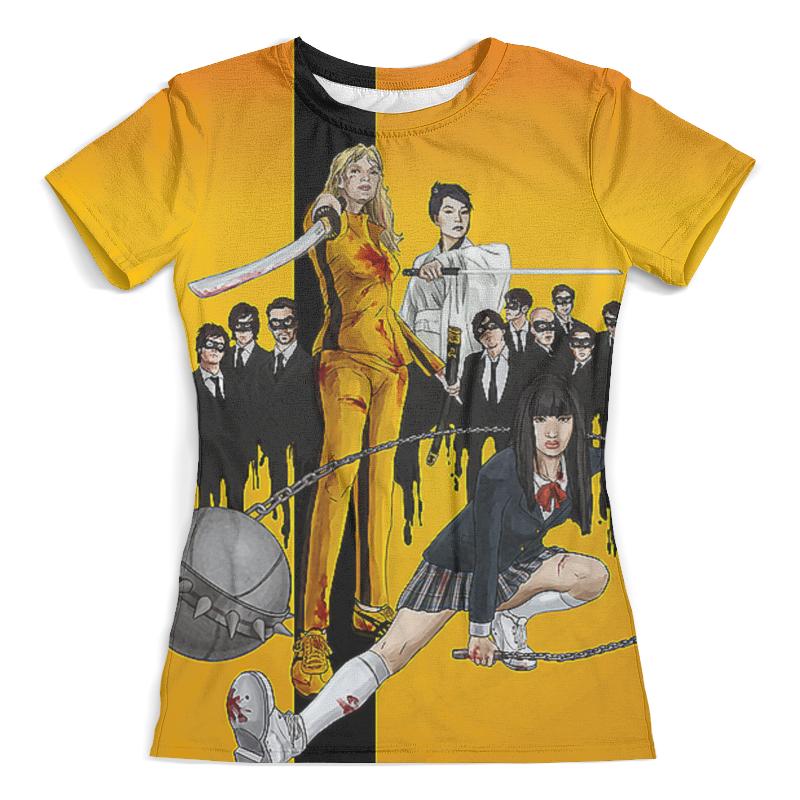 Printio Kill bill design футболка с полной запечаткой женская printio kill bill yubari