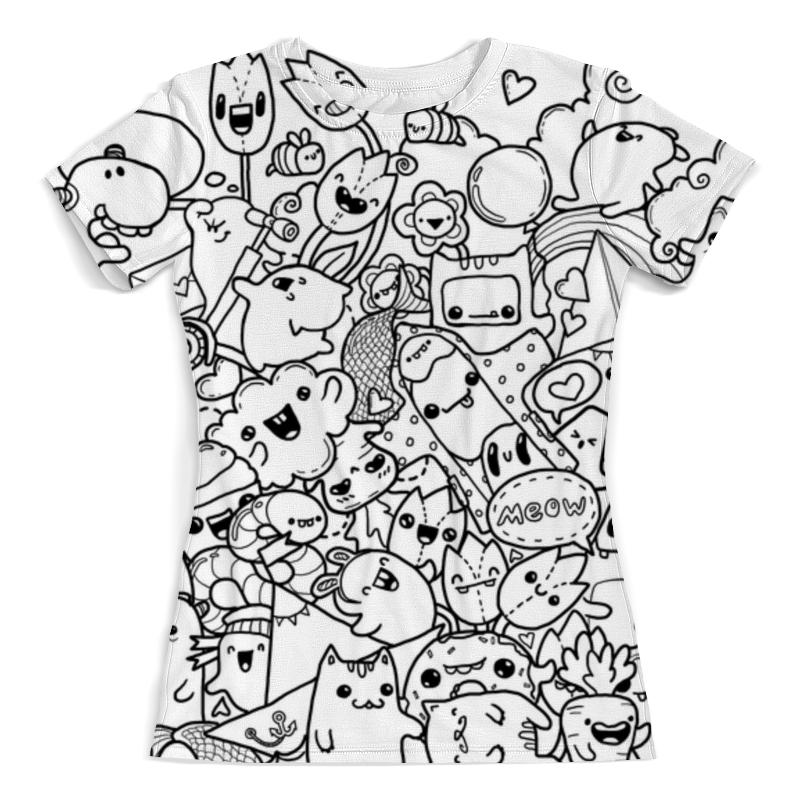 Printio Black and white spring футболка с полной запечаткой женская printio blvck and white от ssg