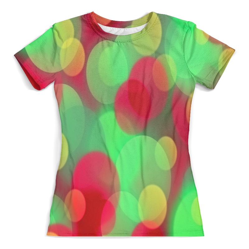 Футболка с полной запечаткой (женская) Printio Блики света футболка с полной запечаткой мужская printio блики