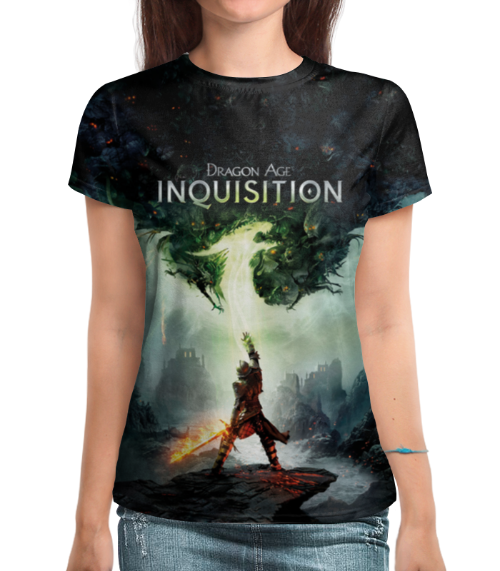 Футболка с полной запечаткой Printio Dragon age inquisition  медиа dragon age inquisition deluxe
