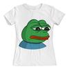 """Футболка с полной запечаткой (женская) """"Pepe the frog"""" - мем, мемы, пепе"""