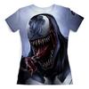 """Футболка с полной запечаткой (женская) """"Веном (Venom)"""" - комиксы, venom, марвел, веном, симбиот"""