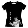 """Футболка с полной запечаткой (женская) """"Джеймс Дин James Dean"""" - стиль, ретро, кино, джеймс дин, james dean"""