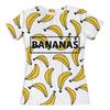 """Футболка с полной запечаткой (женская) """"Bananas"""" - фрукты, бананы, bananas, банан"""