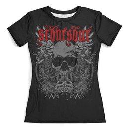 """Футболка с полной запечаткой (женская) """" Stone Sour, группы, метал, Slipknot, Кори Тейлор,"""" - stone sour, группы, метал, slipknot, кори тейлор"""