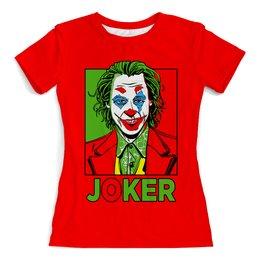 """Футболка с полной запечаткой (женская) """"Joker """" - жене, комиксы, джокер, любимой, отрядсамоубийц"""
