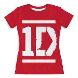 """Футболка с полной запечаткой (женская) """"One Direction"""" - one direction, 1d"""