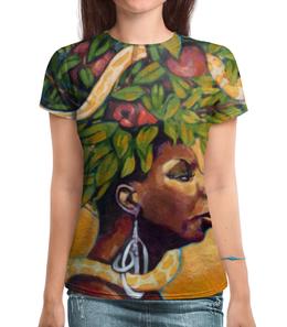 "Футболка с полной запечаткой ""Nina Simone"" - музыка, любовь, джаз, nina simone, нина симон"