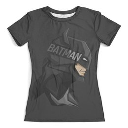"""Футболка с полной запечаткой (женская) """"Бэтмен"""" - комиксы, batman, бэтмен, dc comics"""